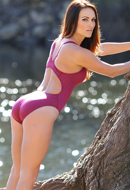 Purple Swimsuit