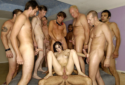 Sasha Grey Gang Bang