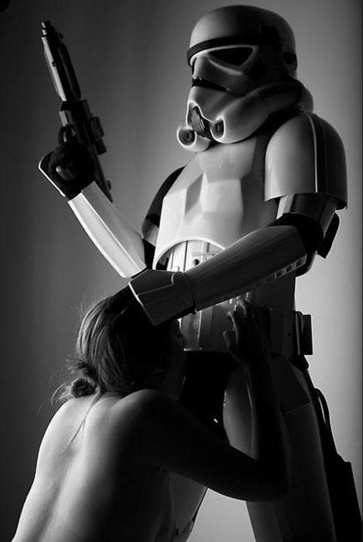 Storm Trooper Blowjob
