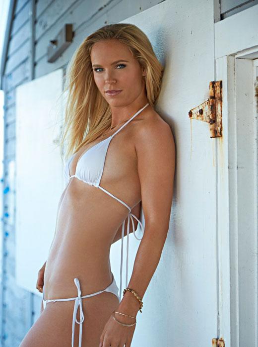 Caroline Wozniaki Tennis White Bikini