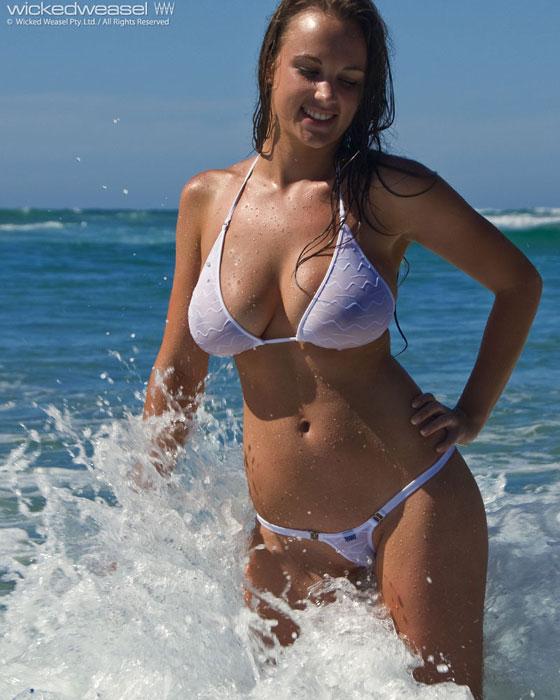 Busty girls in weasel bikinis sex photo